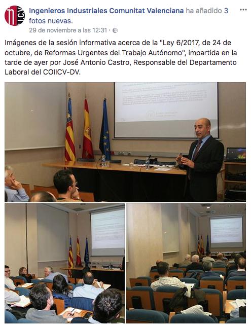Ramon Asociados laboral en Colegio de Ingenieros