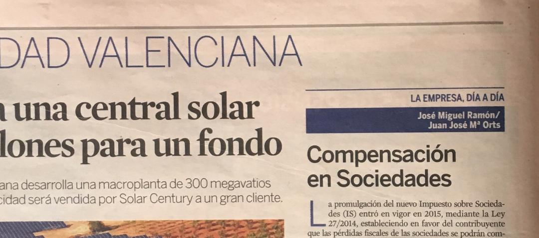 Ramon y Asociados en diario Expansión: compensación en sociedades