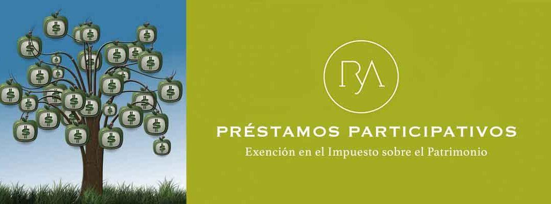 Préstamos Participativos: Exención en el Impuesto sobre el Patrimonio